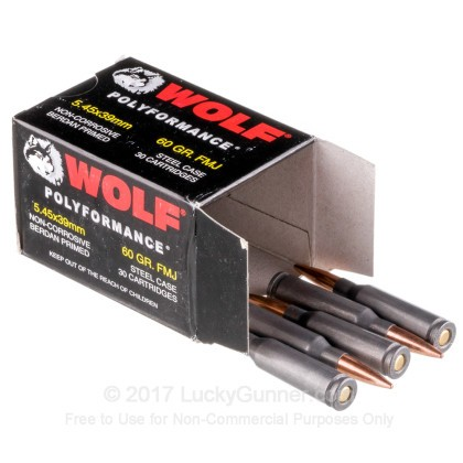 Image 3 of Wolf 5.45x39 Russian Ammo