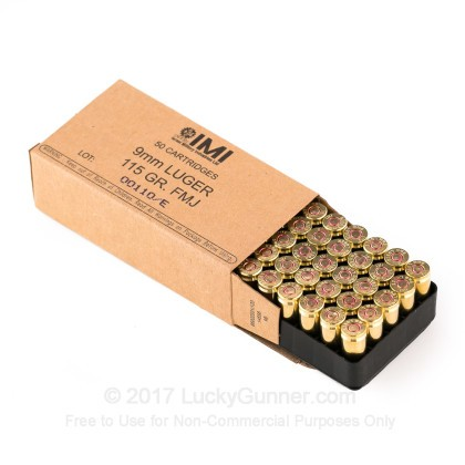 Image 2 of Israeli Military Industries 9mm Luger (9x19) Ammo