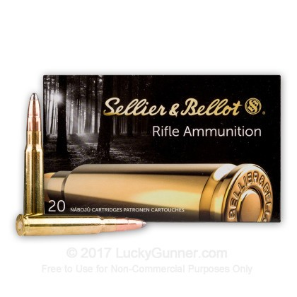 Image 2 of Sellier & Bellot 8x57mm JS Mauser (.323 Diam.) Ammo