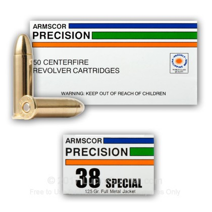 Image 10 of Armscor .38 Special Ammo