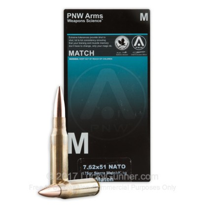 Image 2 of PNW Arms .308 (7.62X51) Ammo