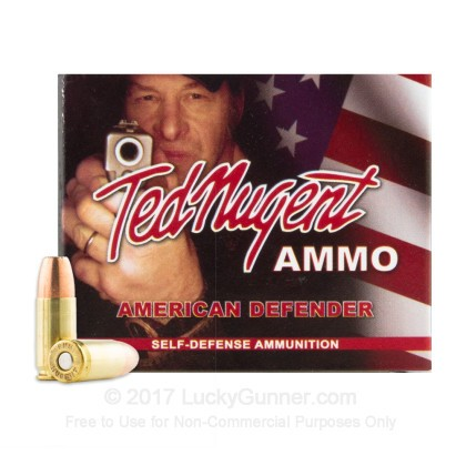 Image 2 of Ted Nugent Ammo 9mm Luger (9x19) Ammo