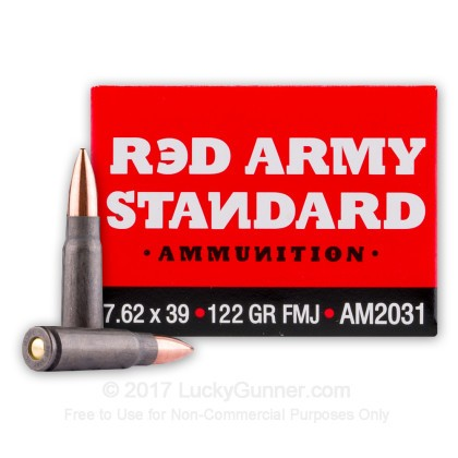 Image 1 of Red Army Standard 7.62X39 Ammo