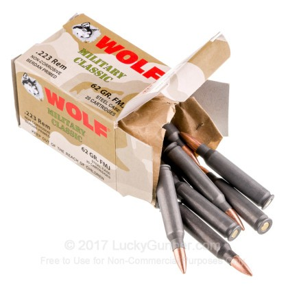 Image 3 of Wolf .223 Remington Ammo