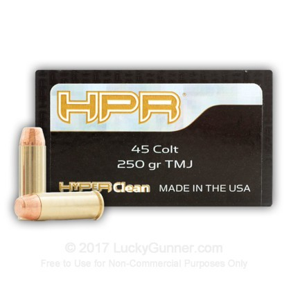 Image 1 of HPR .45 Long Colt Ammo