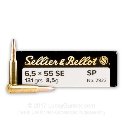 Image 1 of Sellier & Bellot 6.5x55 Swedish Ammo