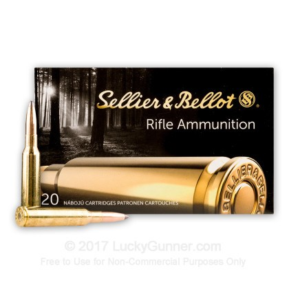 Image 2 of Sellier & Bellot 6.5x55 Swedish Ammo