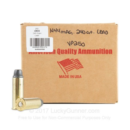 Image 1 of American Quality Ammunition .44 Magnum Ammo