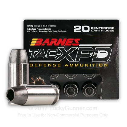 Image 2 of Barnes .40 S&W (Smith & Wesson) Ammo