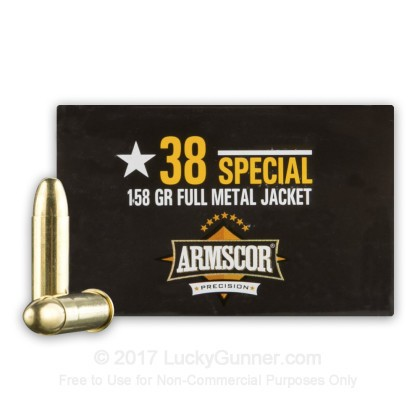 Image 2 of Armscor .38 Special Ammo