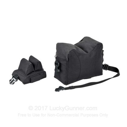 Large image of Blackhawk Sportster Shooting Sand Bag - Prefilled Front and Back Pair For Sale