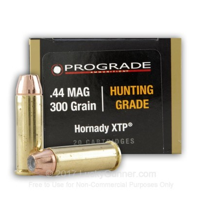 Image 1 of ProGrade Ammunition .44 Magnum Ammo