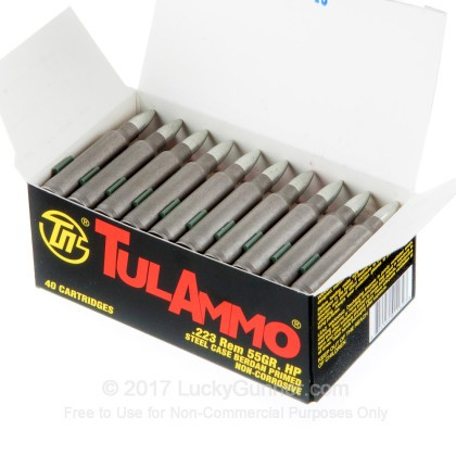 Image 3 of Tula Cartridge Works .223 Remington Ammo