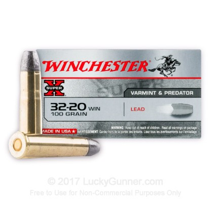 Image 2 of Winchester 32-20 WIN. Ammo