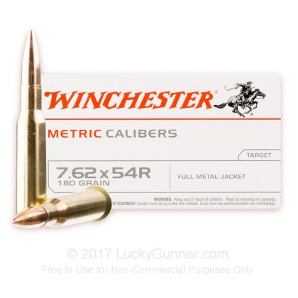 Image 1 of Winchester 7.62x54r Ammo