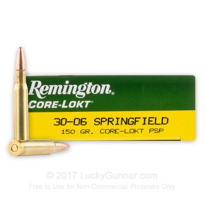 Image 1 of Remington .30-06 Ammo