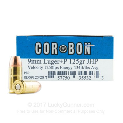 Image 1 of Corbon 9mm Luger (9x19) Ammo