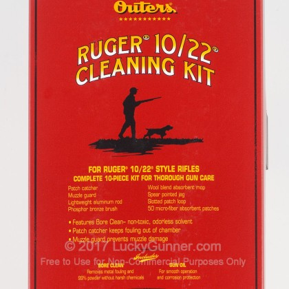 Large image of Outers 98229 Ruger 10/22 Rifle Cleaning Kit For Sale
