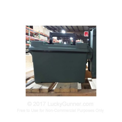 Large image of Cheap Plastic Ammo Can For Sale - AC45 Green Brand New in Stock by MTM - 1 Ammo Can