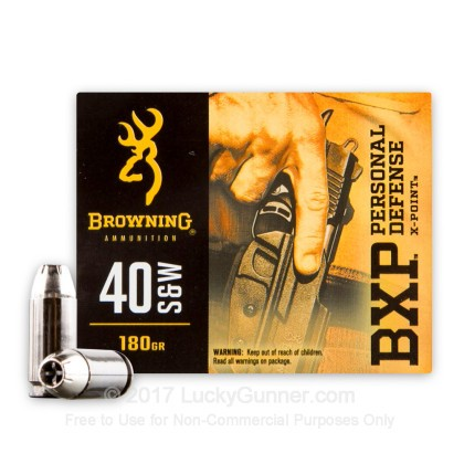 Image 2 of Browning .40 S&W (Smith & Wesson) Ammo
