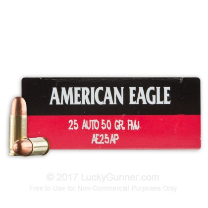 Image 1 of Federal .25 Auto (ACP) Ammo