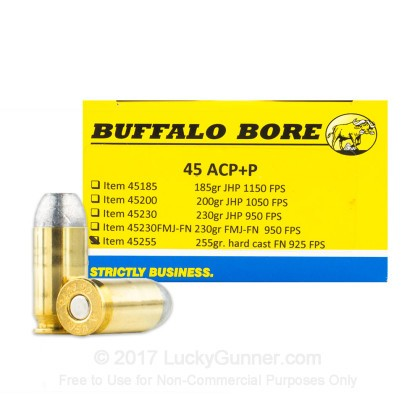 Image 1 of Buffalo Bore .45 ACP (Auto) Ammo