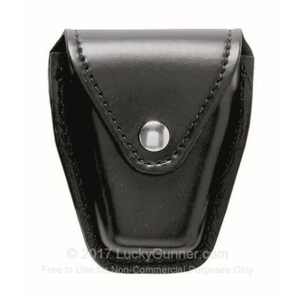 """Large image of Handcuff Pouch - Safariland Model 190 - Fits 2.25"""" Belts - Black"""