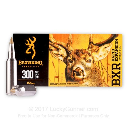 Image 1 of Browning 300 Winchester Short Magnum Ammo