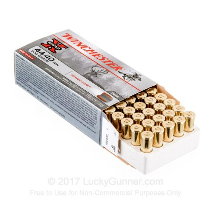 Image 3 of Winchester .44-40 WCF Ammo