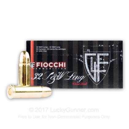 Image 2 of Fiocchi .32 (Smith & Wesson) Long Ammo