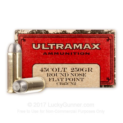 Image 1 of Ultramax .45 Long Colt Ammo