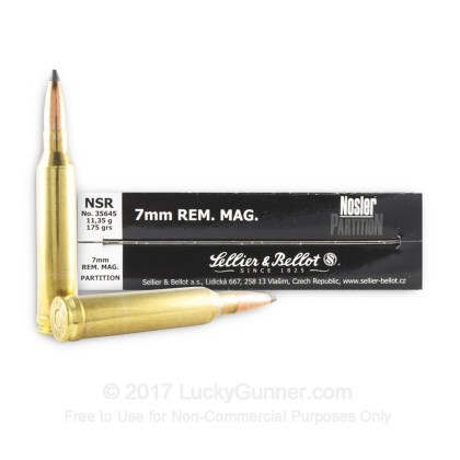 Image 2 of Sellier & Bellot 7mm Remington Magnum Ammo