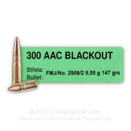 Image 2 of Sellier & Bellot .300 Blackout Ammo