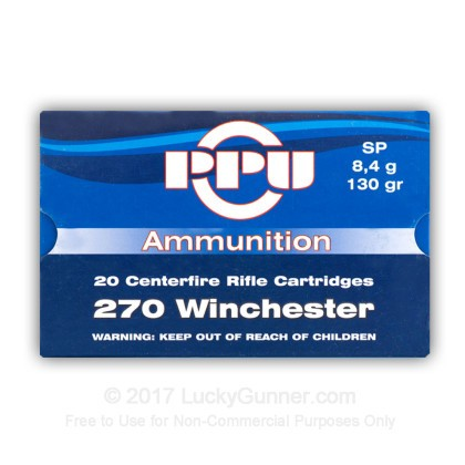Image 1 of Prvi Partizan .270 Winchester Ammo