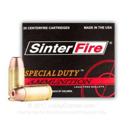 Image 2 of SinterFire .40 S&W (Smith & Wesson) Ammo