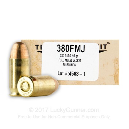 Image 1 of Team Never Quit .380 Auto (ACP) Ammo