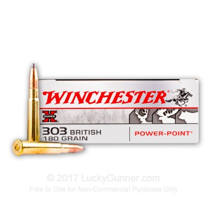 Image 1 of Winchester .303 British Ammo