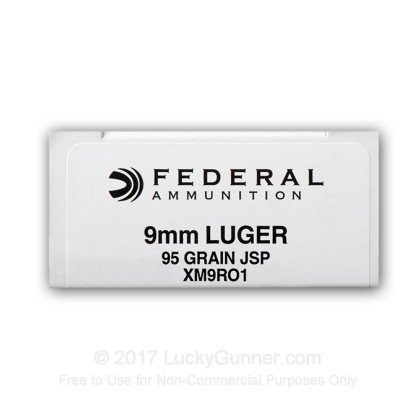 Image 8 of Federal 9mm Luger (9x19) Ammo