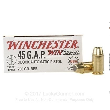 Image 1 of Winchester .45 GAP Ammo