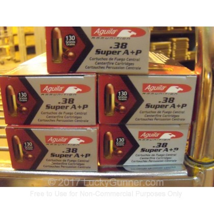 Image 5 of Aguila .38 Super Ammo