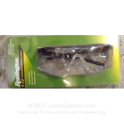 Large image of Remington Clear Shooting Glasses For Sale - T72-10 - Remington Glasses in Stock