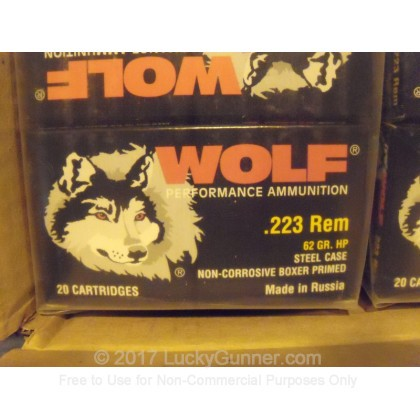 Image 2 of Wolf .223 Remington Ammo