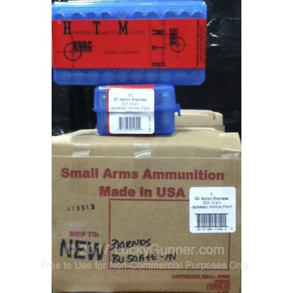 Image 4 of BVAC .50 Action Express Ammo