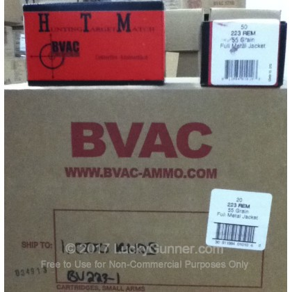 Image 4 of BVAC .223 Remington Ammo