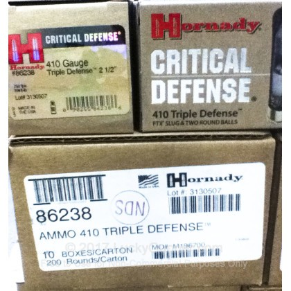 Image 4 of Hornady 410 Gauge Ammo