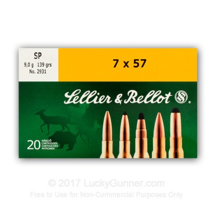 Image 6 of Sellier & Bellot 7x57 Mauser Ammo