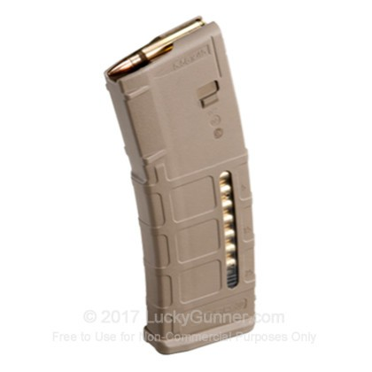 Large image of Premium 5.56/223 Rem AR-15 Magazine For Sale - 30 Round AR-15 Magazine in Stock by Magpul for 5.56/223 Rem Magpul Gen M2 w/ Window - 1 Magazine