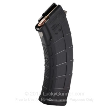 Large image of Cheap 7.62x39mm Magazine For Sale - Black AK-47 Magazine in Stock by Magpul PMAG - 30 Round Magazine