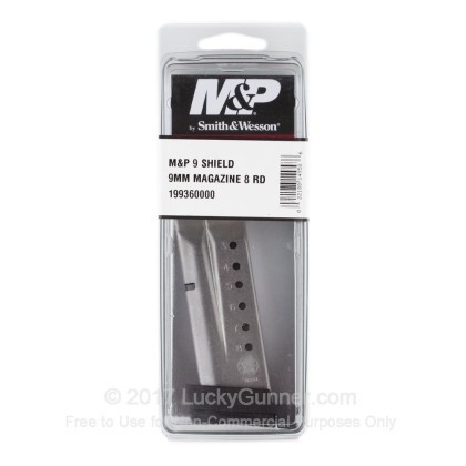 Large image of Smith & Wesson M&P Shield - 9mm Luger - 8 Round OEM Magazine