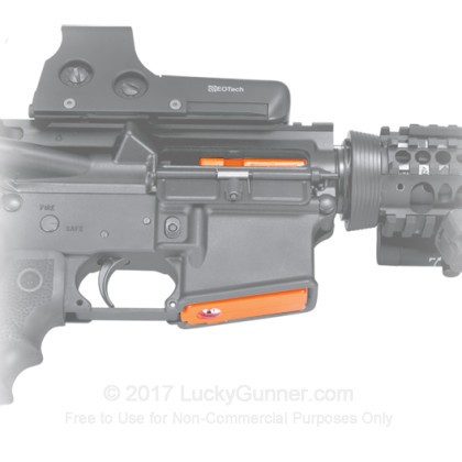 Large image of GunVault Mag Well Lock For Sale - MagVault AR-01 Magazine Well Safe For Sale